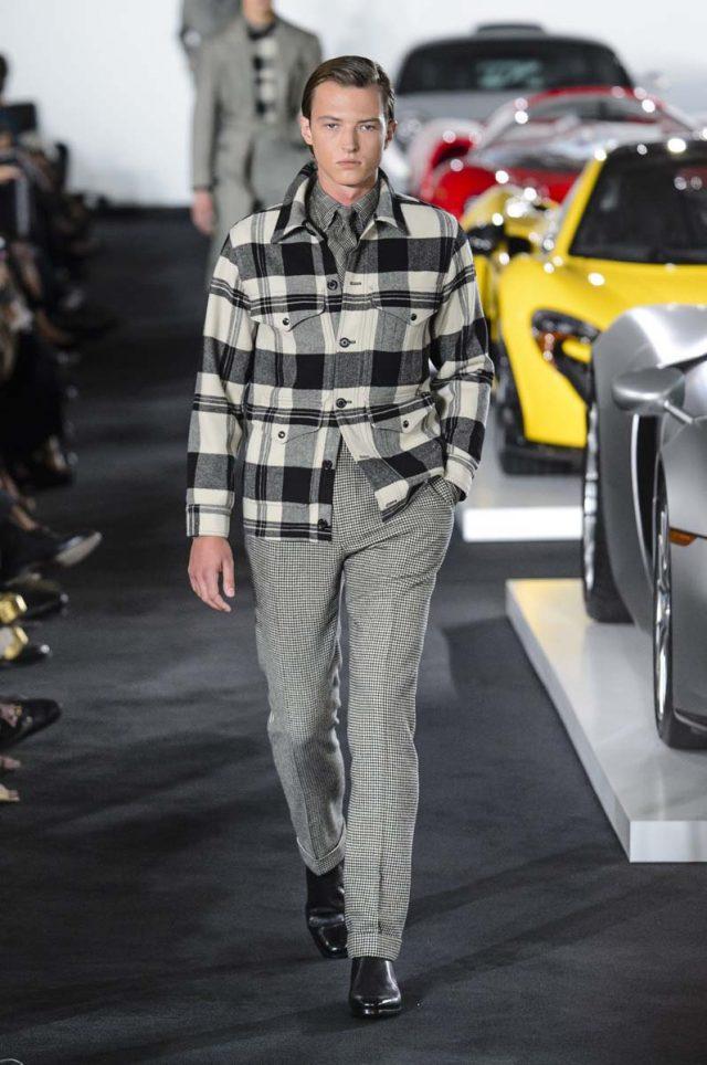 Tul, piel y plástico: Así es el invierno 'tuning' de Ralph Lauren