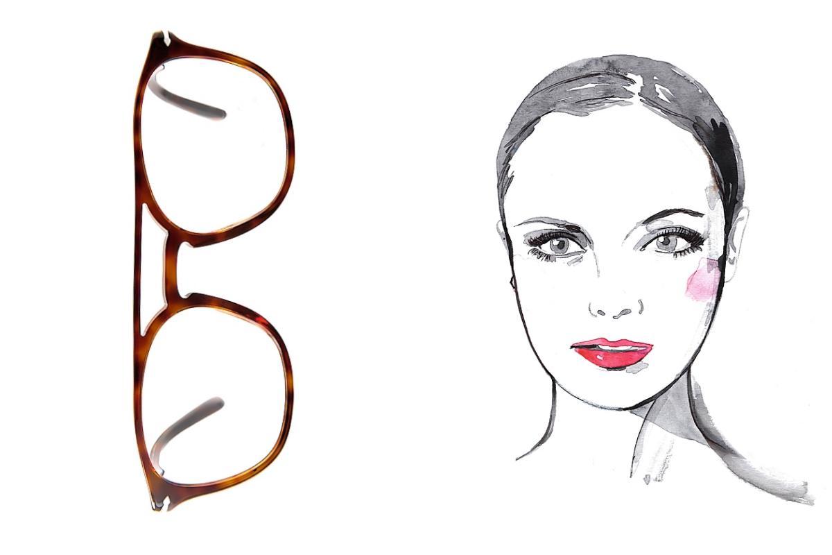 aee5db6cd9 MIRADA DE GATO: Las gafas de mariposa acompañan a los rostros triangulares.  ¿Los ahumados están prohibidos con las lentes? «No, funcionan con monturas  al ...