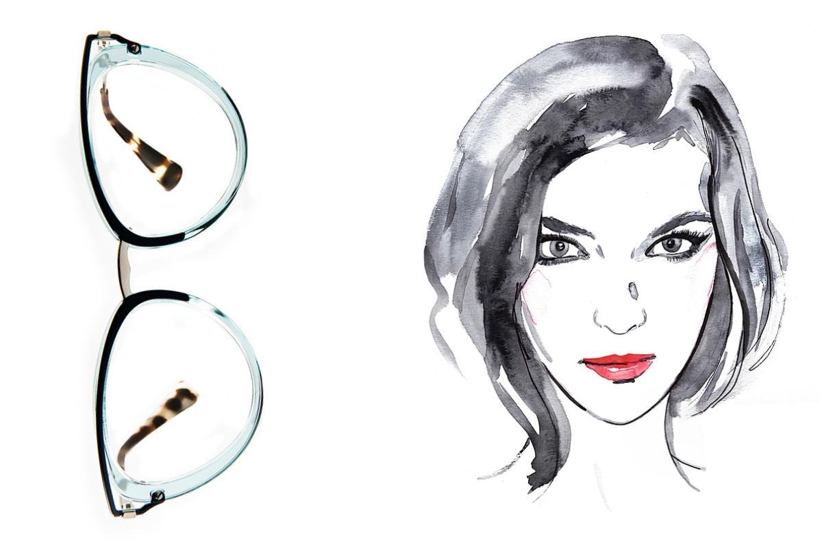 657f44c5ad RASGAR LOS OJOS: A los rostros menudos y alargados les favorecen los  anteojos pequeños. «El eyeliner puede ser peliagudo si se emplea este tipo  de accesorio ...