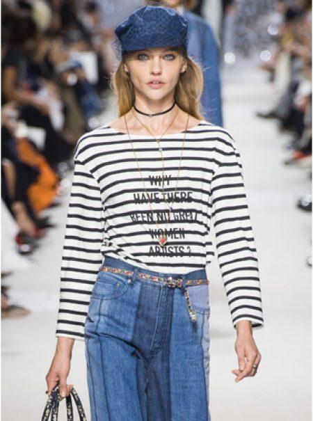 La nueva camiseta viral de Dior reivindica a las mujeres artistas