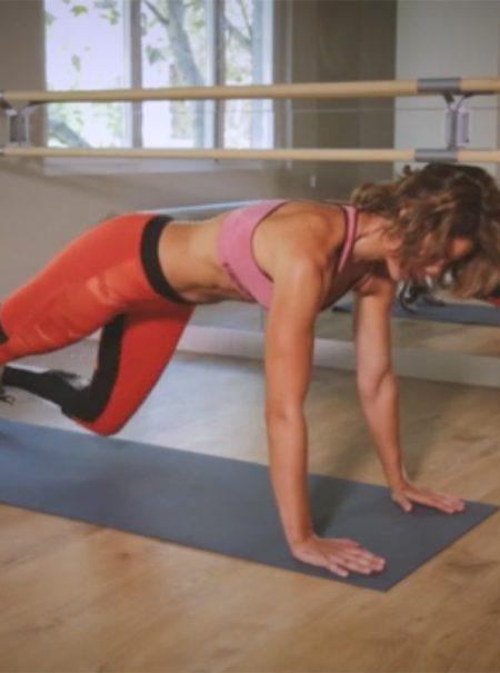 5 ejercicios para ejercitar el vientre sin hacer abdominales