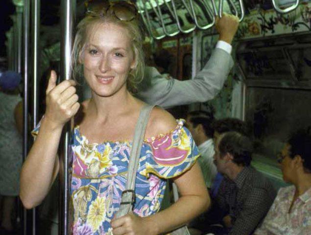 Vuelve el bulo de Meryl Streep, la foto en el metro y el «demasiado fea»