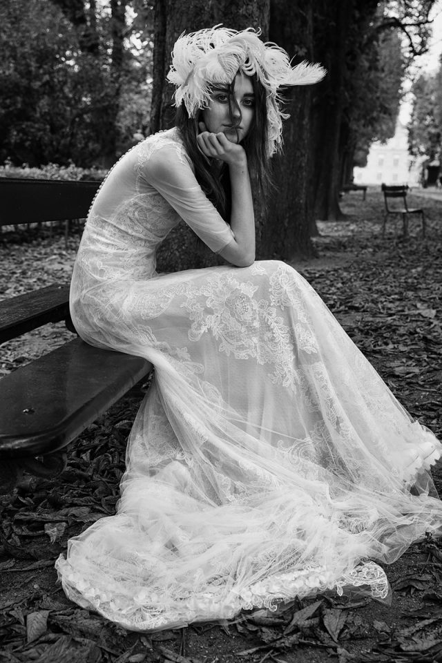 vestidos de novia para invierno