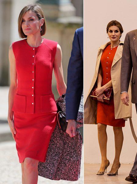 Los vestidos favoritos de la Reina Letizia (que repite una y otra vez)