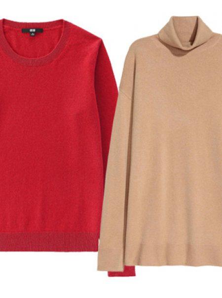 15 jerséis de cashmere por menos de 100 euros