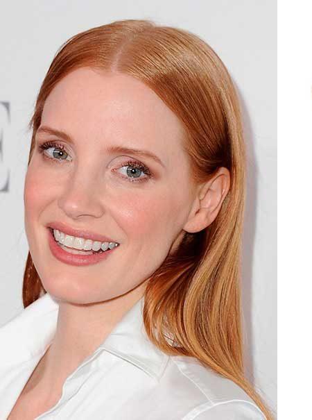 Pelo y sombra de ojos a juego: el favorecedor maquillaje que llevan las 'celebrities'