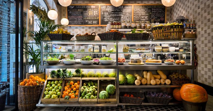 restaurantes comida sana