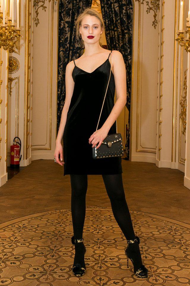 5a13116c9 Guerra al frío: 20 maneras de llevar medias negras con mucho estilo ...