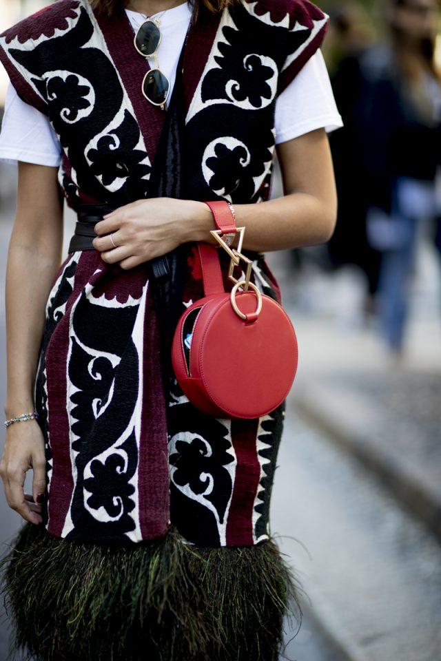 bolsos redondos