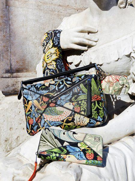La última colección de Loewe rinde tributo a William Morris