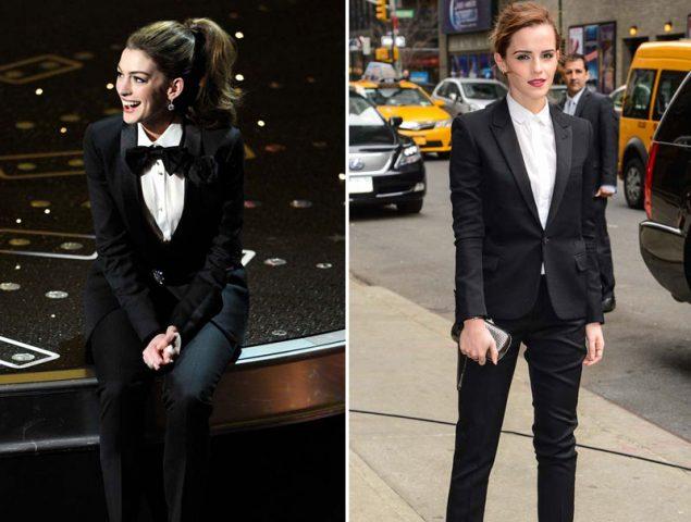 Con los pantalones bien puestos: 36 veces que una mujer nos inspiró llevando un traje sastre