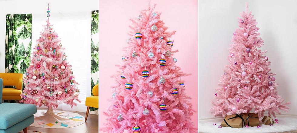 Tendencia inesperada el triunfo de los rboles de navidad - Arboles de navidad rosa ...