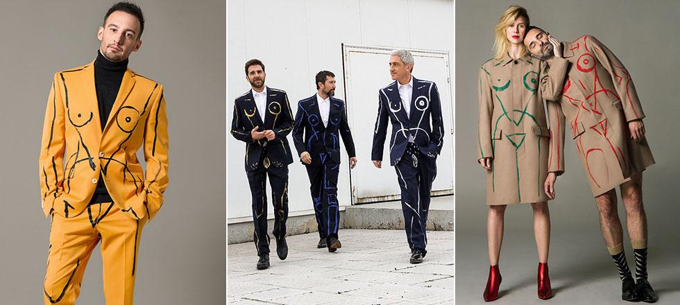 16 famosos se ponen el traje protesta para reivindicar el feminismo