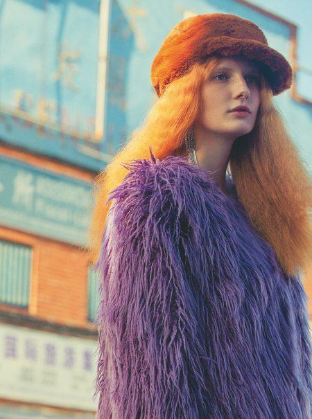 Flechazo invernal: un abrigo suave y cálido