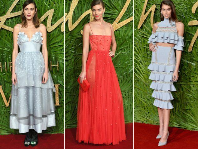 Todos los looks de los Fashion Awards 2017