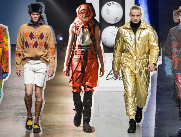 Hombres del mundo, Londres y Milán quieren que tiréis vuestros chinos y camisas aburridas