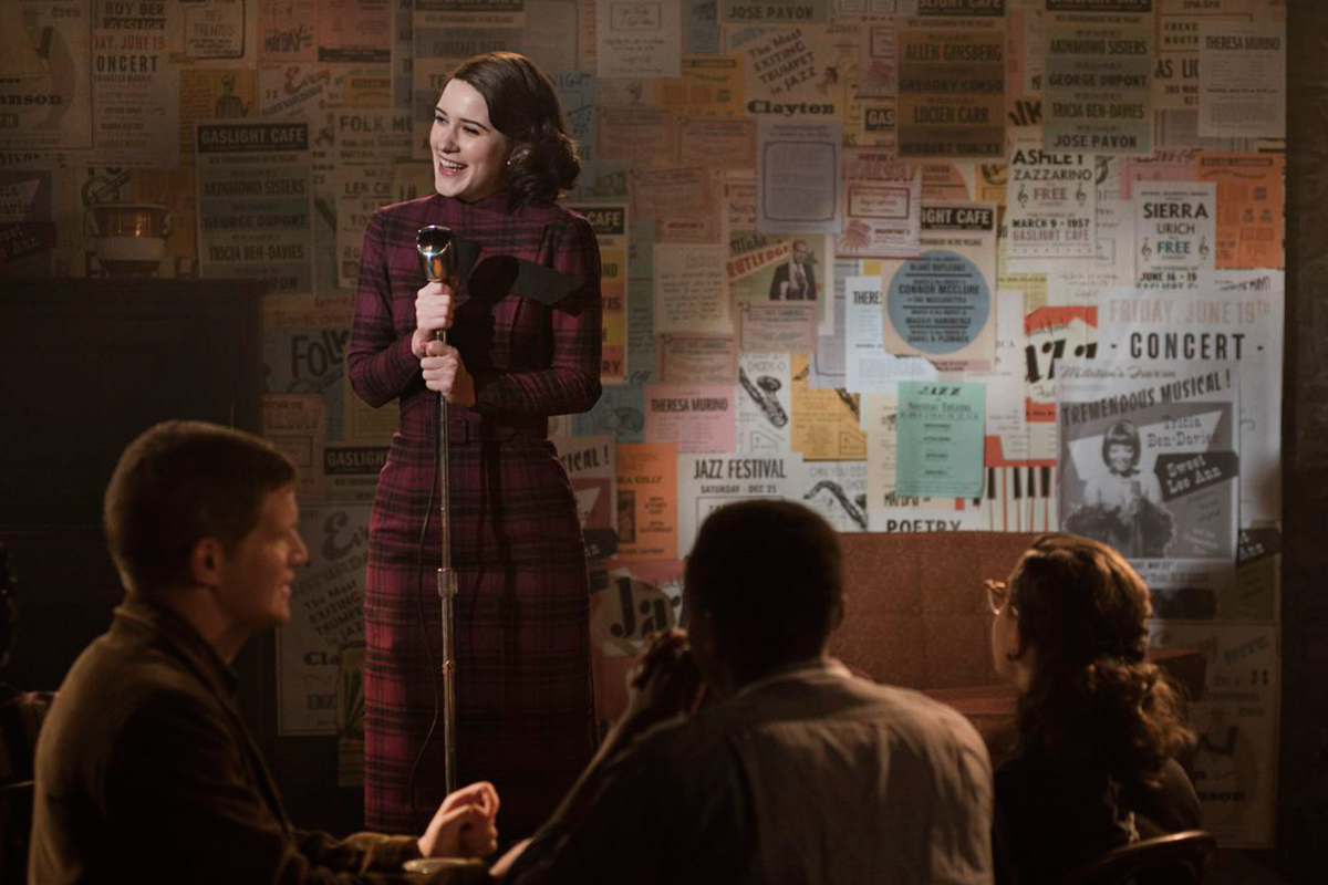 The Marvelous Mrs. Maisel serie