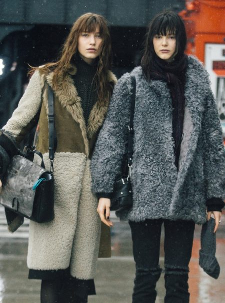 Lecciones de 'street style' para desafiar el frío extremo