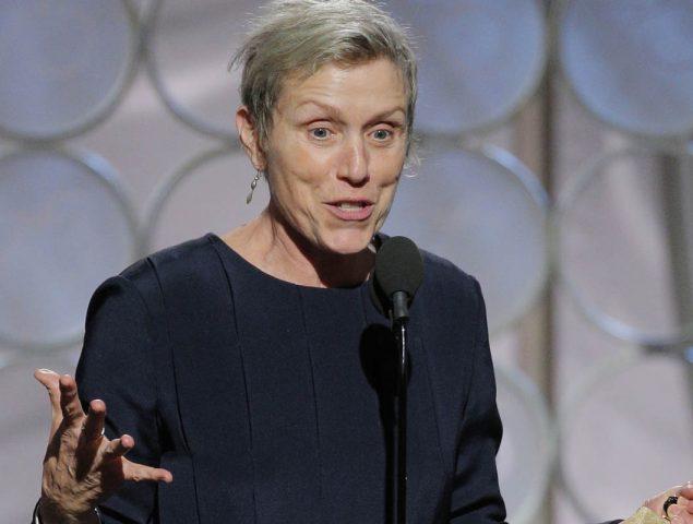 La razón por la que Frances McDormand nunca va maquillada en la alfombra roja