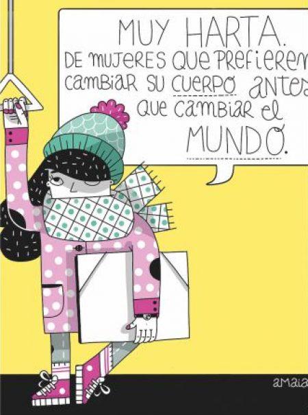 12 ilustradoras españolas dibujan cómo ven a la mujer en 2018