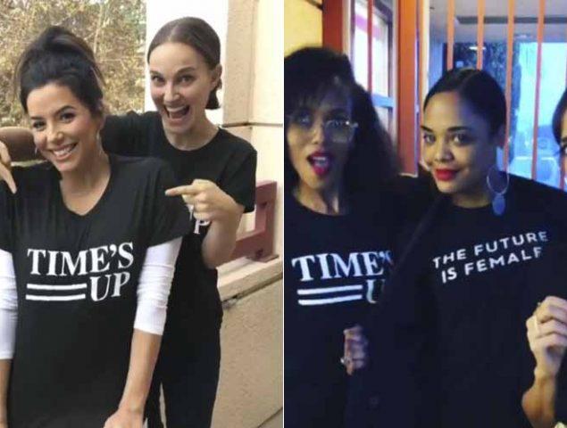 Las actrices de Hollywood explican por qué se han vestido de negro en los Globos de Oro