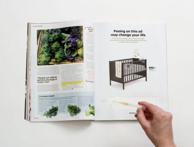 Ikea pide a las mujeres que hagan pis en un anuncio para conseguir un descuento