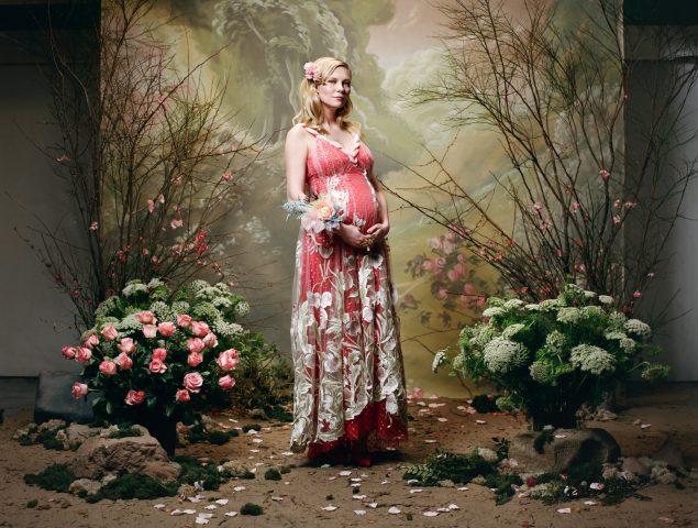 Kirsten Dunst, embarazada, protagoniza la nueva campaña de Rodarte