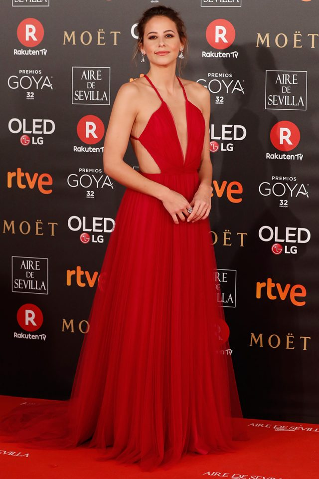 alfombra roja goya 2018