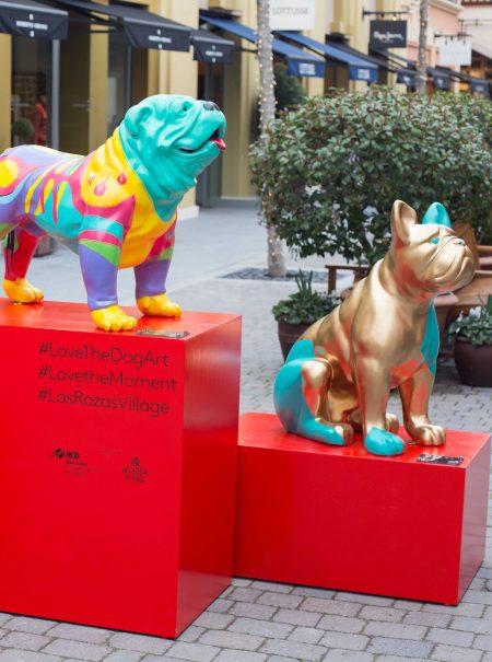 La Roca Village y Las Rozas Village celebran el talento con la exposición #lovethedogart