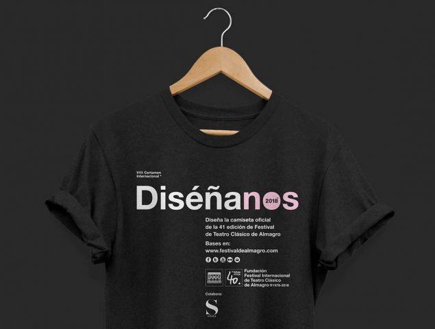 El Festival Internacional de Teatro Clásico de Almagro y S Moda quieren que diseñes la camiseta oficial