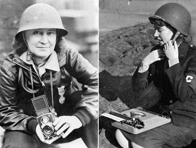 Mujeres en el frente: un homenaje a 23 reporteras de guerra