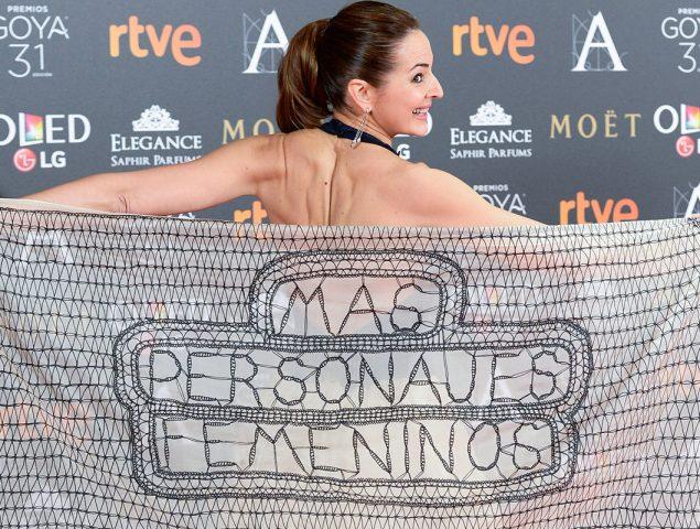 Los Goya 2018: una gala 'feminista' presentada, dirigida y escrita por hombres