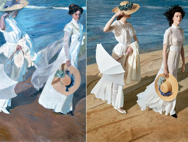 ¿Pintura o fotografía? Recreamos nuestros cuadros favoritos de Sorolla