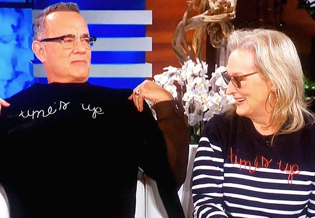 300 euros por un jersey con el lema 'Time's Up': ¿negocio o solidaridad?