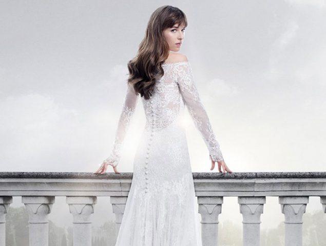 así se diseñó el vestido de novia de anastasia en 'cincuenta sombras