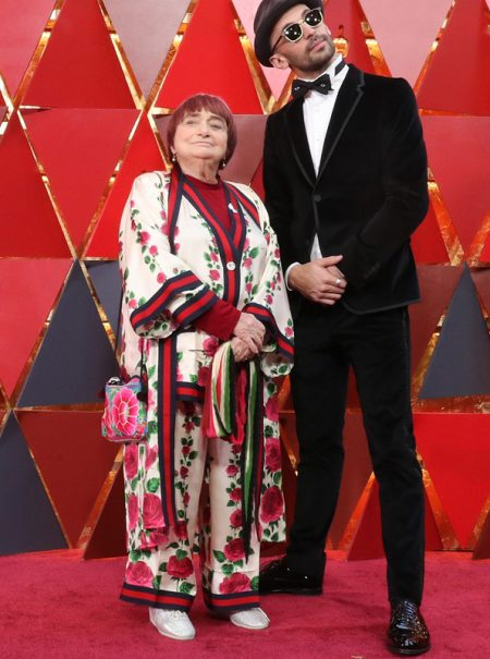 Agnès Varda, 89 años e icono inesperado de la alfombra roja