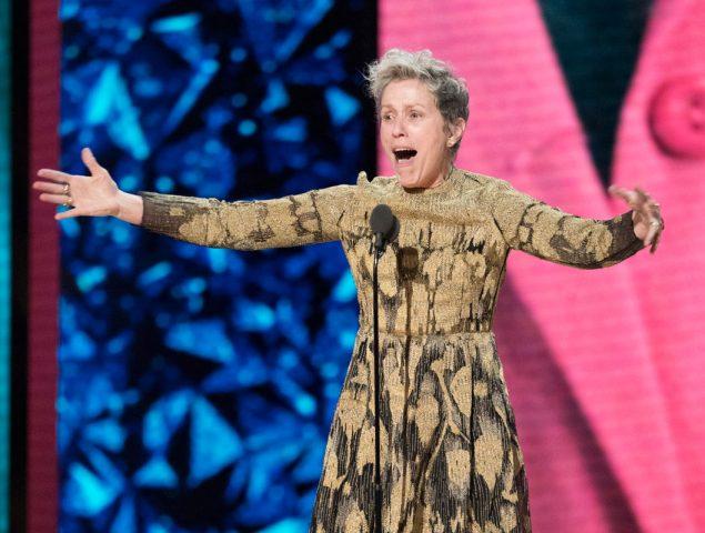 ¿Qué es la 'Inclusion Rider' que reivindicó Frances McDormand en su discurso?
