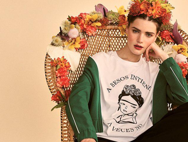 Frida Kahlo, la protagonista de la nueva colección cápsula de Stradivarius