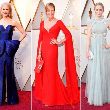 Vestidos Alfombra Roja de los Oscars