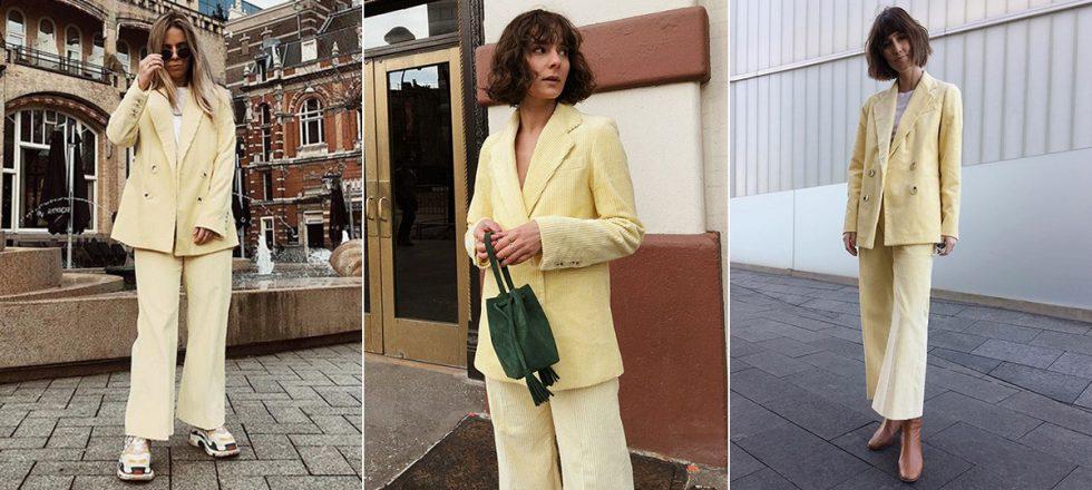 Traje De En Llevan Todas El Este Es Instagram Zara Que Amarillo BerodCx