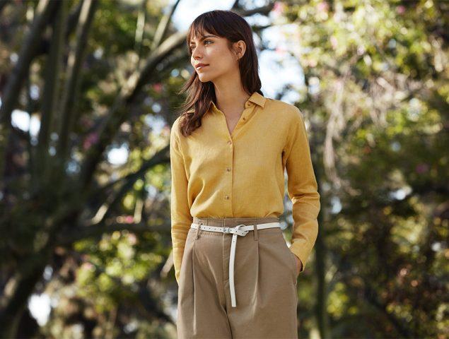 Las prendas de lino que querrás este verano están en Uniqlo