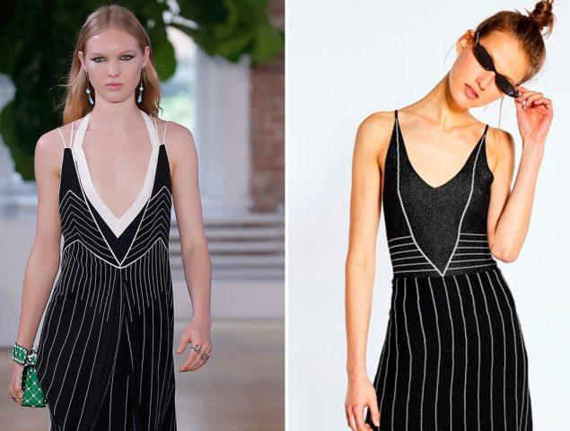 Valentino está detrás de las faldas (y el vestido) más clonado de la primavera