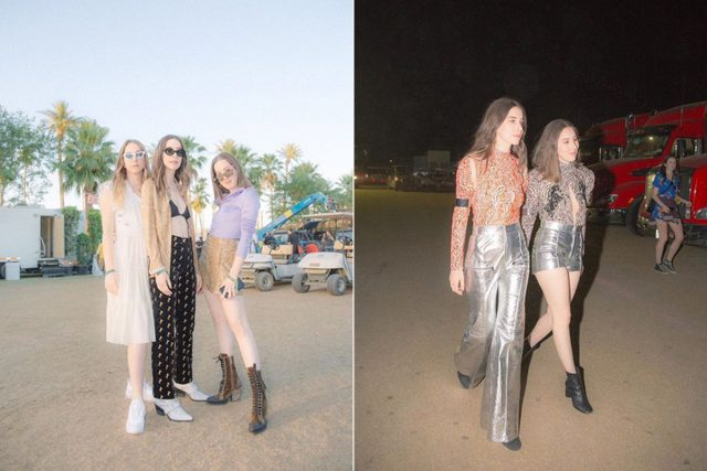 Purpurina y microtops: así visten las celebrities en Coachella