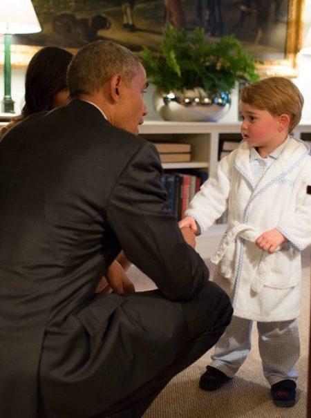 Michelle Obama rompe internet con la felicitación a los duques de Cambridge