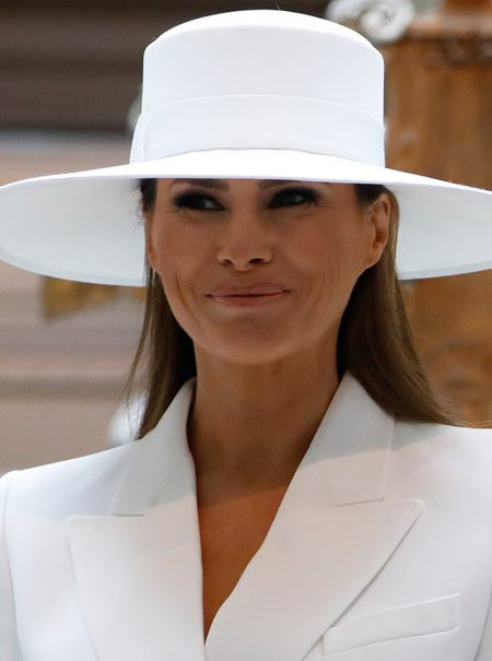 El sombrero de Melania Trump deja los mejores memes del día