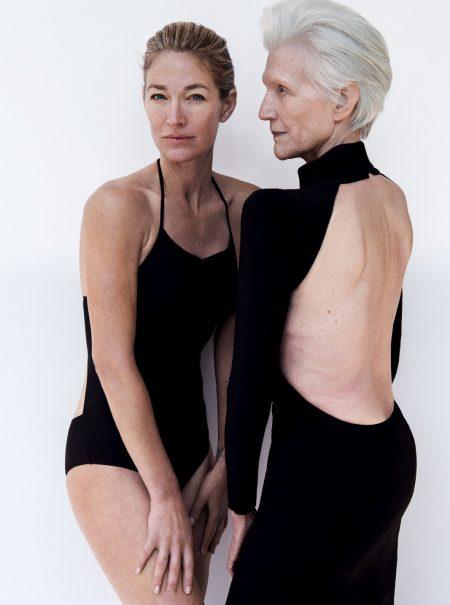Dos tops en plenitud: así escapan a los 48 y a los 70 años de la dictadura de la belleza