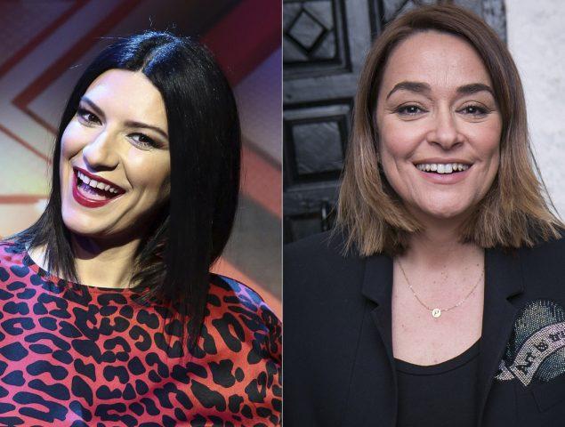 """Laura Pausini no entiende el revuelo por preguntar """"¿te gustan las mujeres?"""" a Toñi Moreno"""