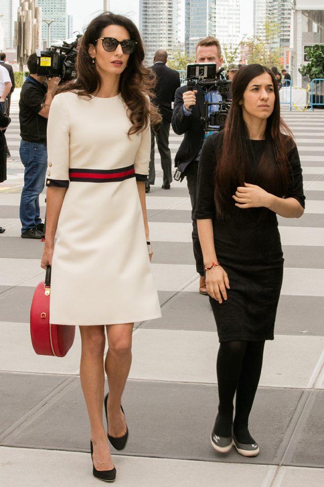 Por qué todo el mundo (incluso Anna Wintour) se ha rendido al estilo Amal
