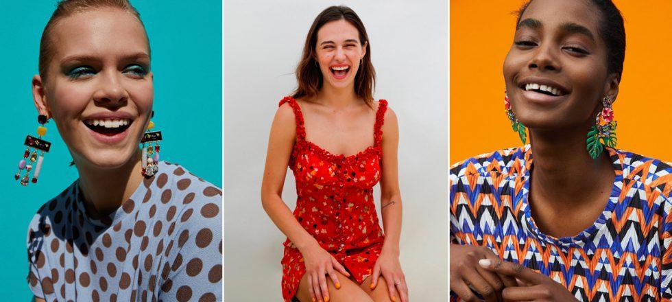 Adiós a las modelos mustias: la moda quiere aprender a sonreír