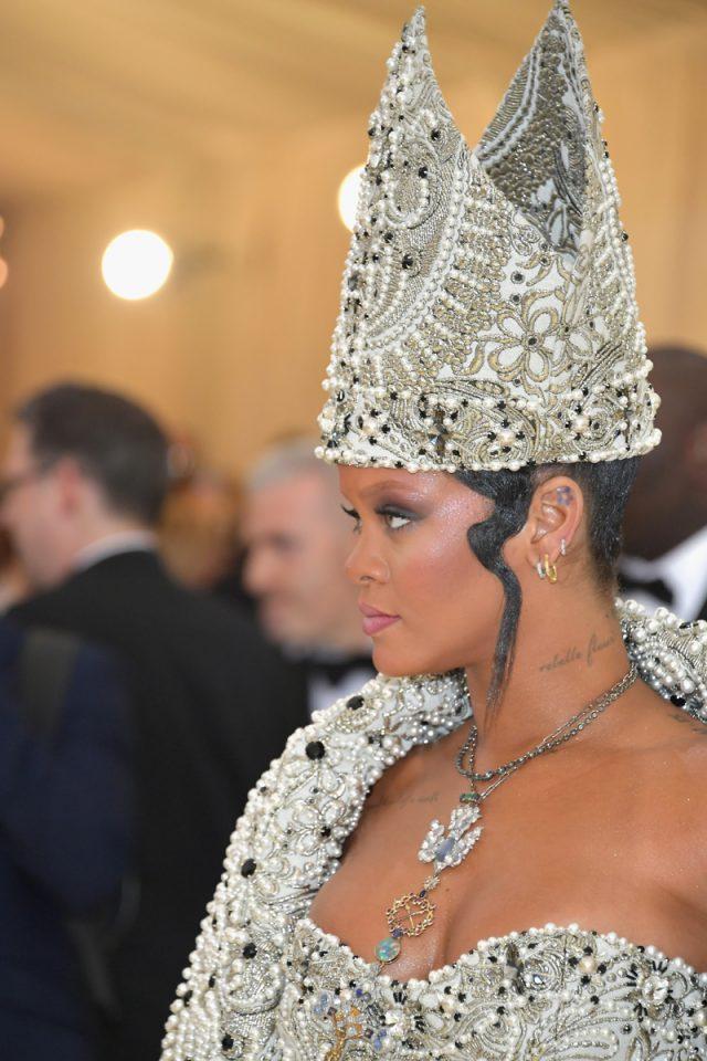 Rihanna Gala Met